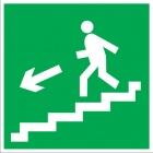Направление к эвакуационному выходу по лестнице вниз